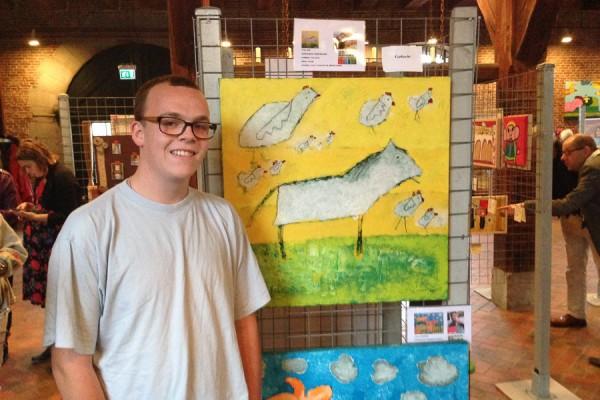 Expositie Willemstad met Robin