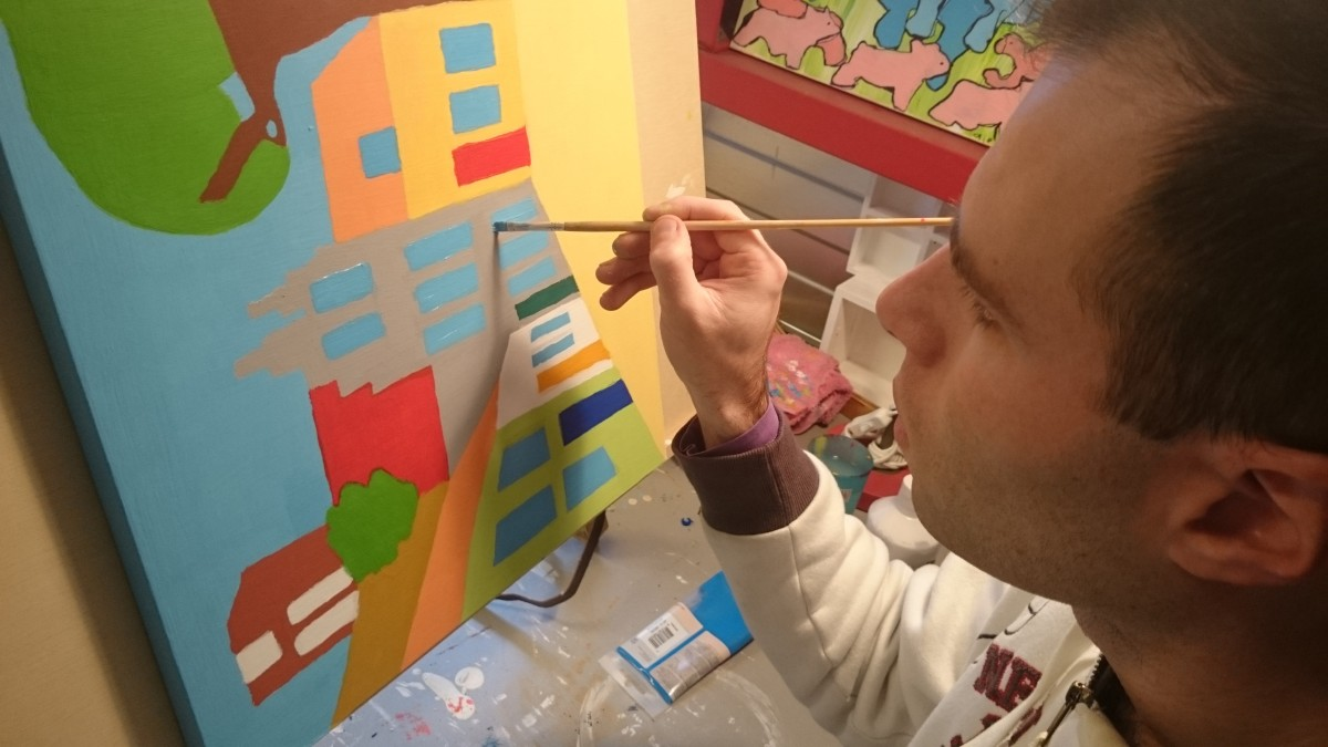 Lars van Rossum www.kunstenmaker.nl