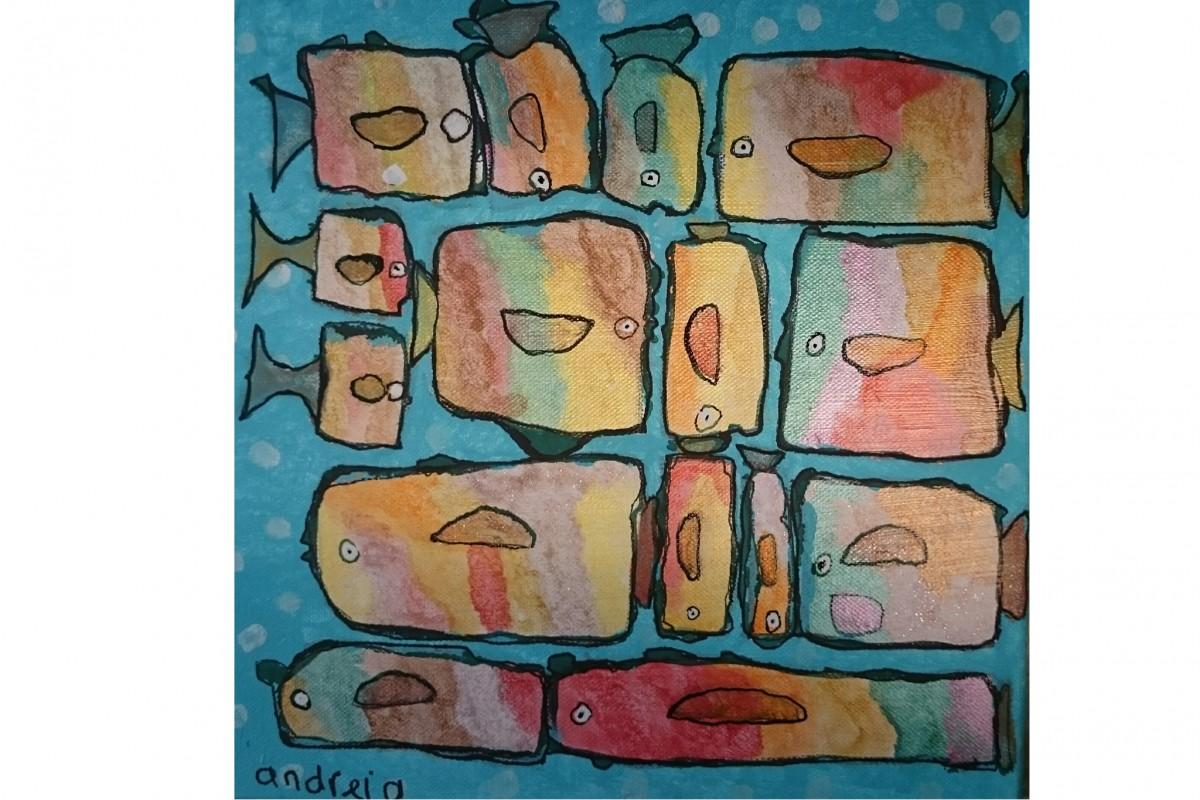 andreia_kraaijenbrink_blokvissen_30x30_35euro_ kunstenmaker