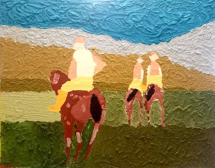 Paardenkonten van mijn part Robin Brusse